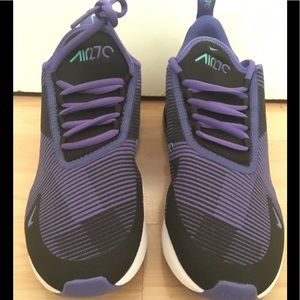 Nike Air Max 270 GS Persian Violet Shoes Sz 7Y